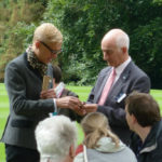 Mark Hill talks with Paul Atterbury at an Antiques Roadshow