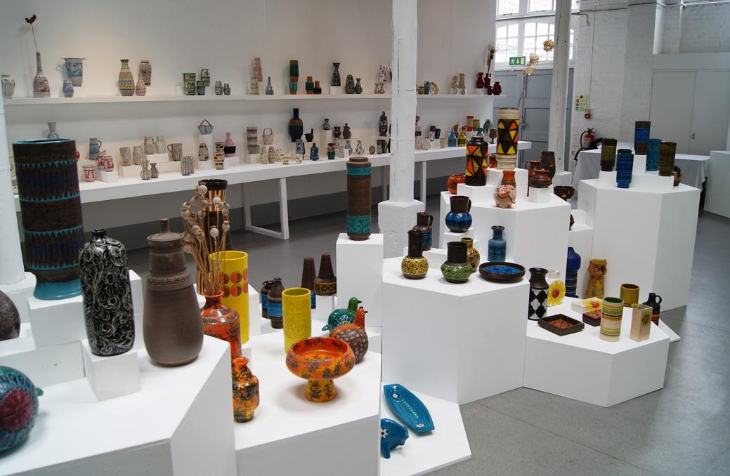 Alla Moda Italian Ceramics Exhibitionmark Hill Antiques