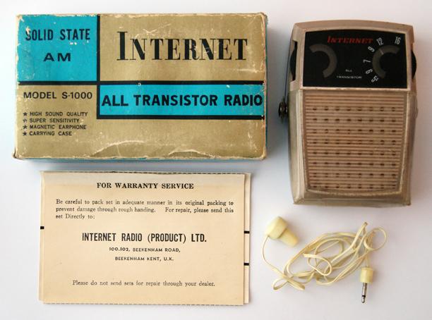 Internet Transistor Radio