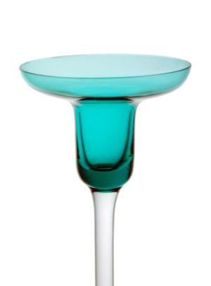 A rare Dartington Glass Candleholder