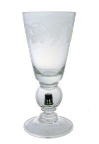 A 1930s Stevens & Williams 'Newport Tower' Goblet