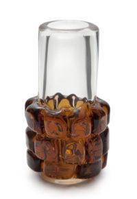A 1970s Frantisek Vizner for Skrdlovice Toffee Vase