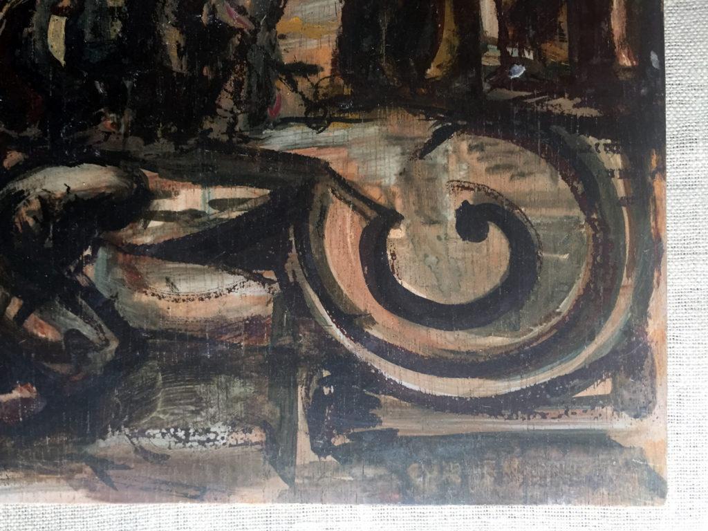 Helen Grunwald Painting Detail