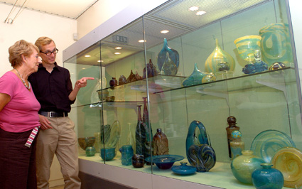 Michael Harris Exhibition Broadfield House Glass Museum