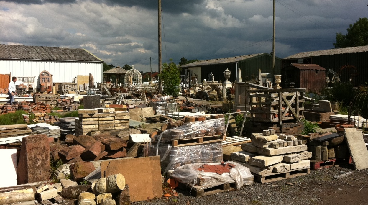 A Visit To Leominster Reclamation Yard Mark Hill Antiques Collectables Expert Author