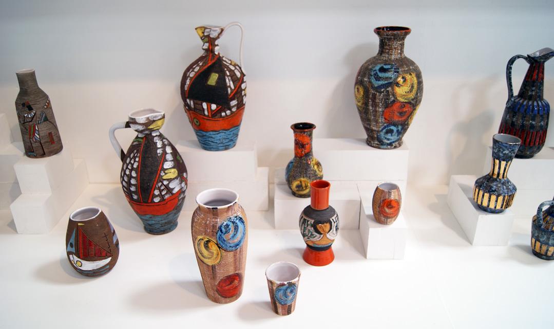 Alla Moda Italian Ceramics Exhibition
