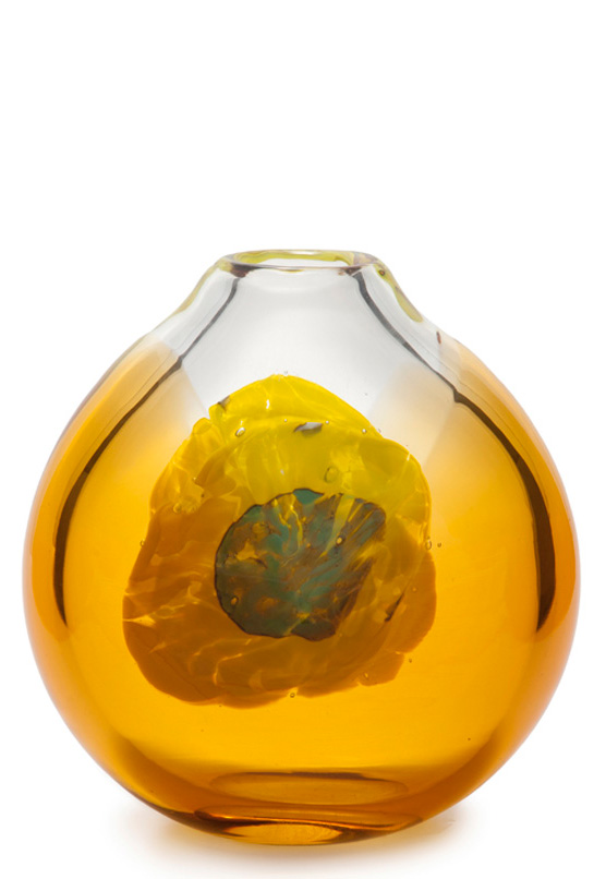 Good 1970s Moser Ovoid Vase