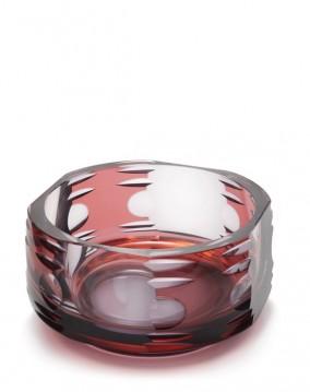 A Novy Bor Dual Bowl designed by Karel Wunsch