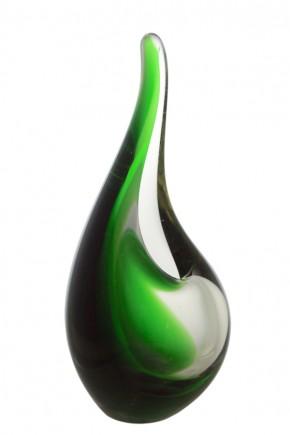 A Holmegaard Per Lutken Orchid Flamingo Vase