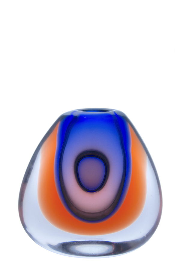 A 1960s Vladimir Mika for Moser Ovoid Vase