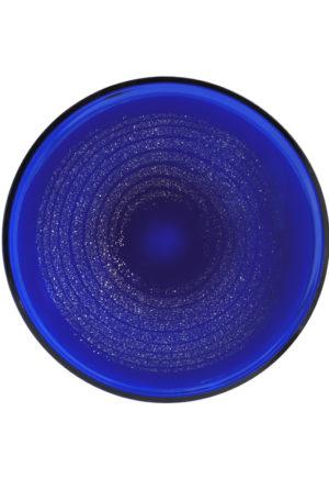 A Frantisek Vizner for Skrdlovice Cobalt Blue Mica Charger