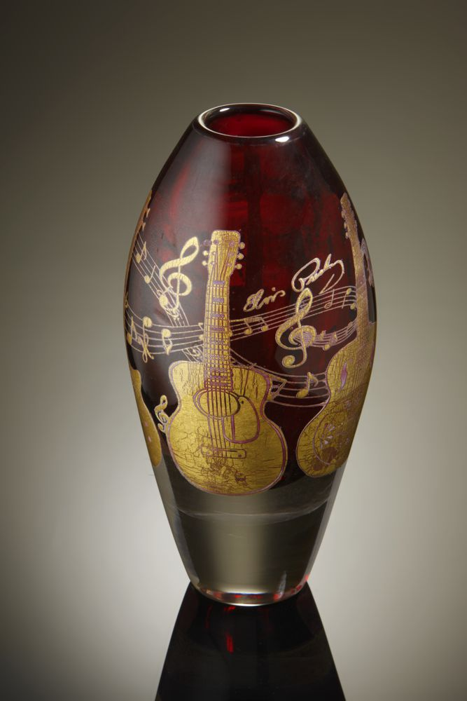 Jonathan Harris 'Elvis Presley' Vase designed by Mark Hill