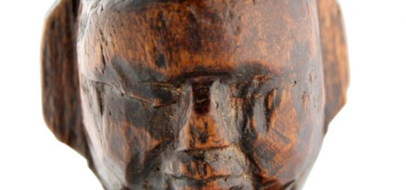 Primitive Indian Doll Head