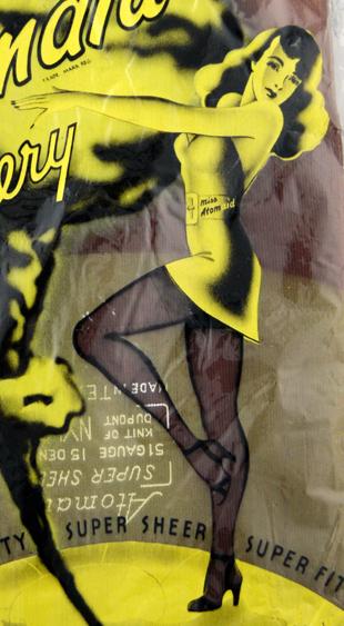 1940s Atomaid Nylon Stockings Miss Atomaid