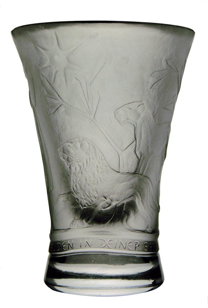 Wilhelm von Eiff glass