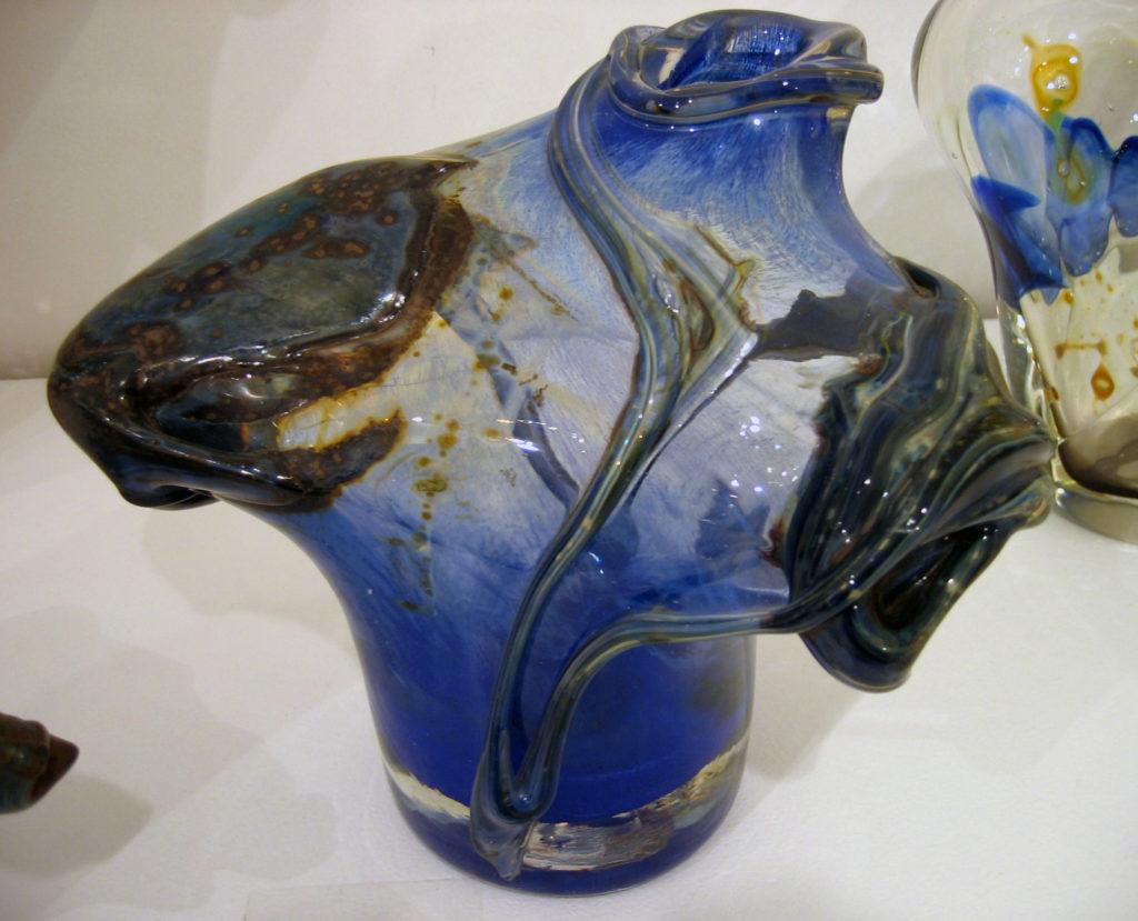 Sam Herman Glass Vase