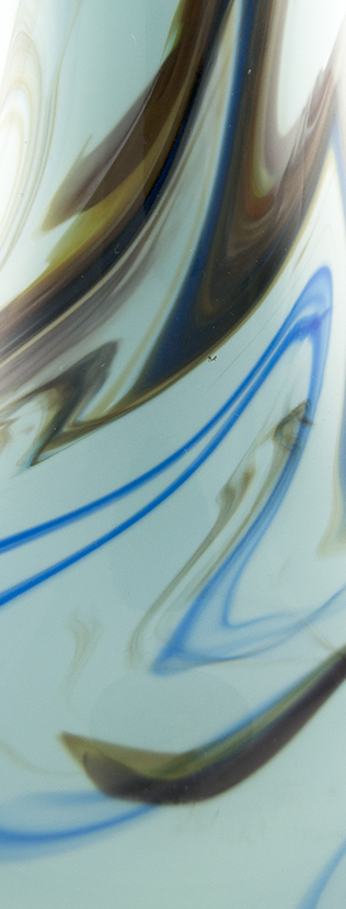 Snowflakes Glass Vase Pattern
