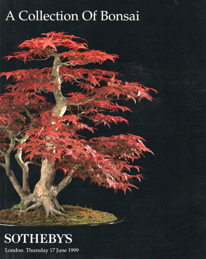 Sothebys Bonsai Catalogue 1999