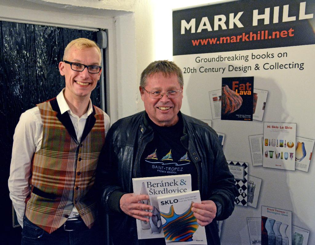 Mark Hill Jindrich Parik Sklo Czech Glass Book