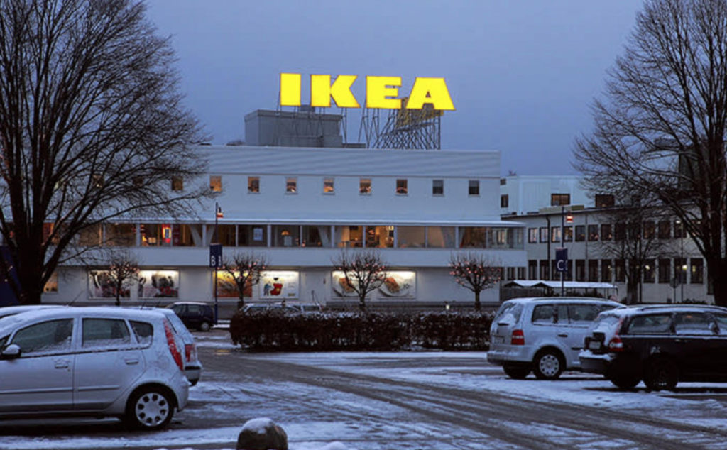 Ikea's First Store in Amhult, Sweden
