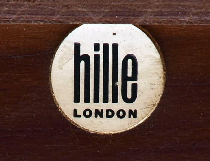 1960s Hille Furniture Catalogue Label
