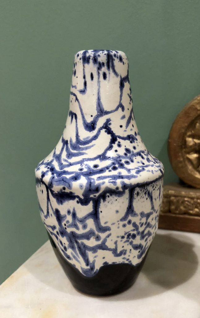 Kurt Franke Fat Lava Vase