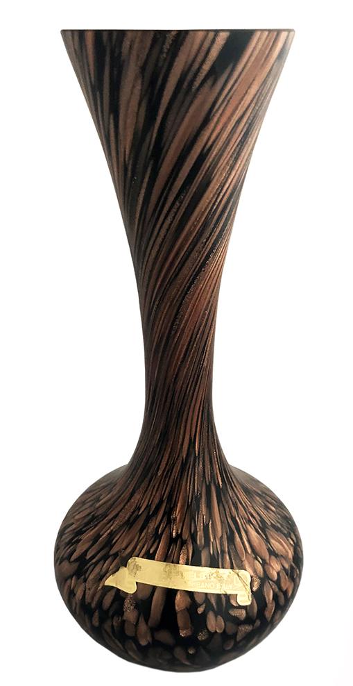 V Nason Murano Glass Vase