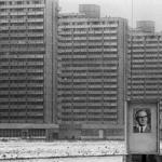 Plattenbau in East Berlin