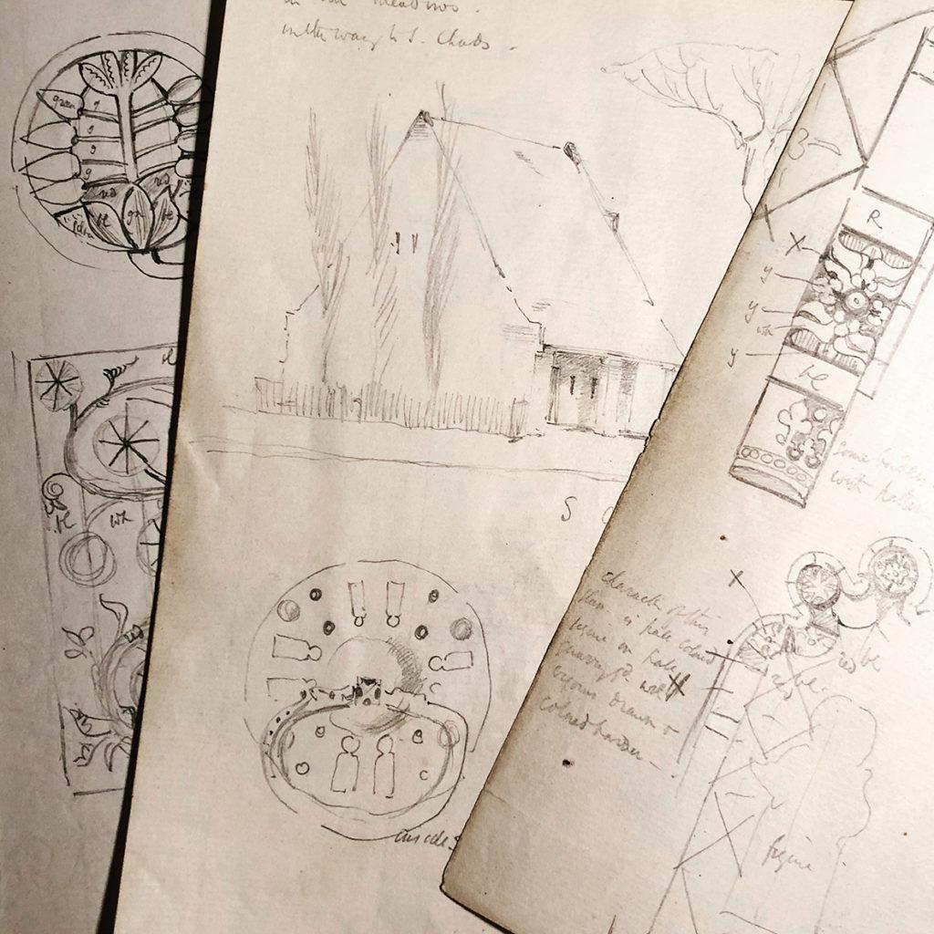 Philip Webb Sketches