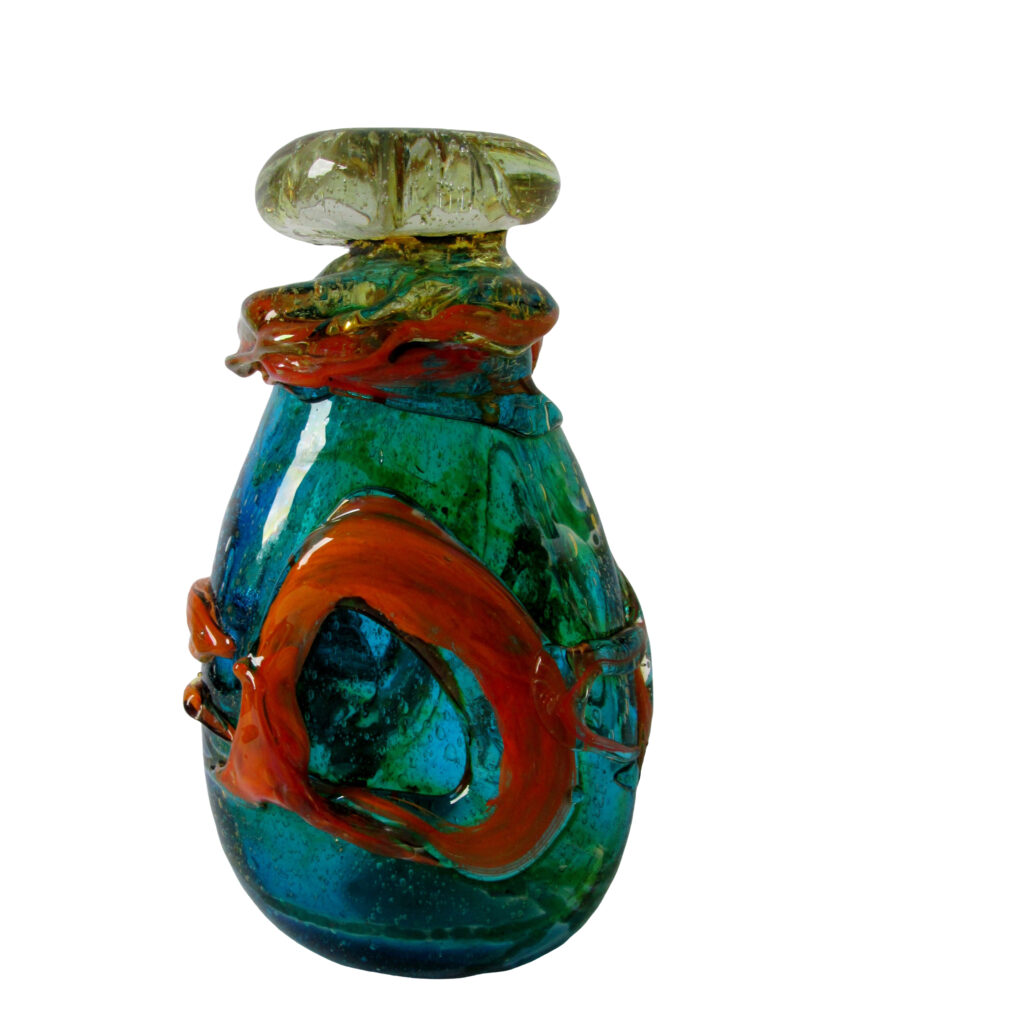 Sam Herman Glass Vase