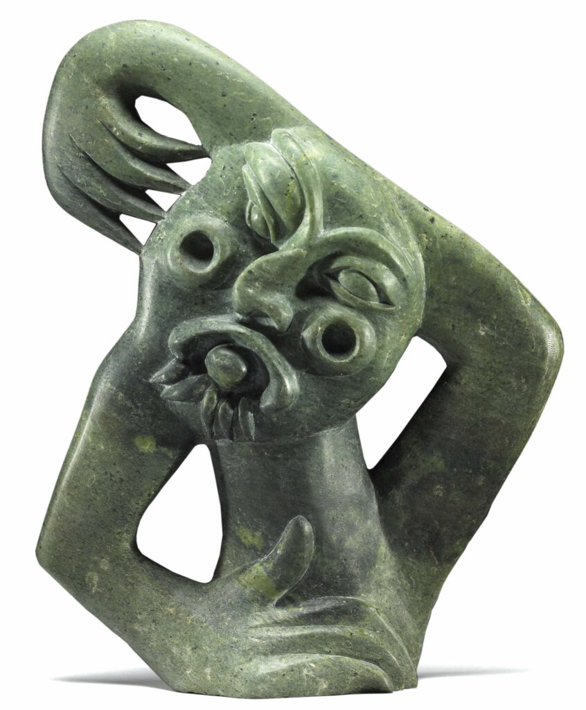 Inuit carving sculpture